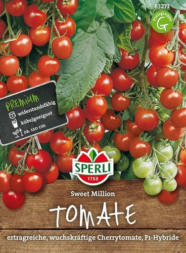 Tomate (Cherry-Tomate) 'Sweet Million F1'